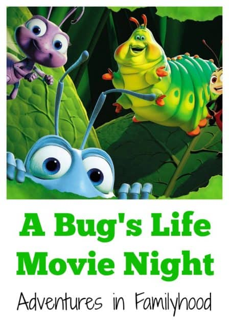 A Bug's Life Family Movie Night