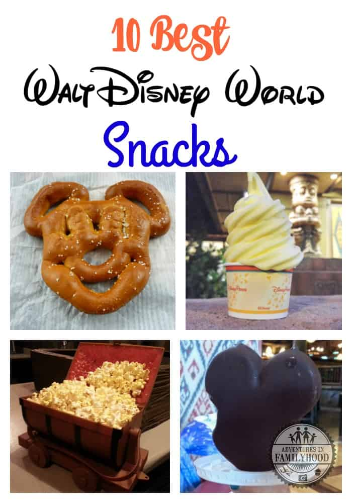 What are our 10 Best Walt Disney World snacks? | Disney Snacks | Disney Food