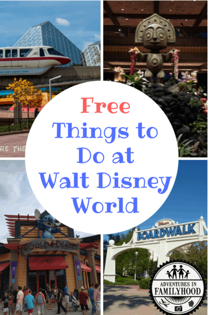 Free Things to Do at Walt Disney World