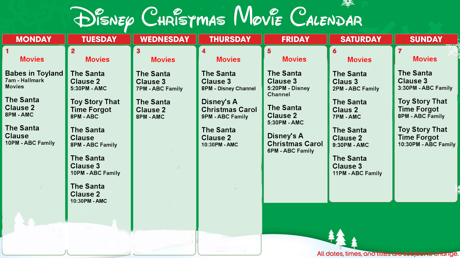Disney Holiday Specials   A Guide to TV and Streaming   Adventures ...