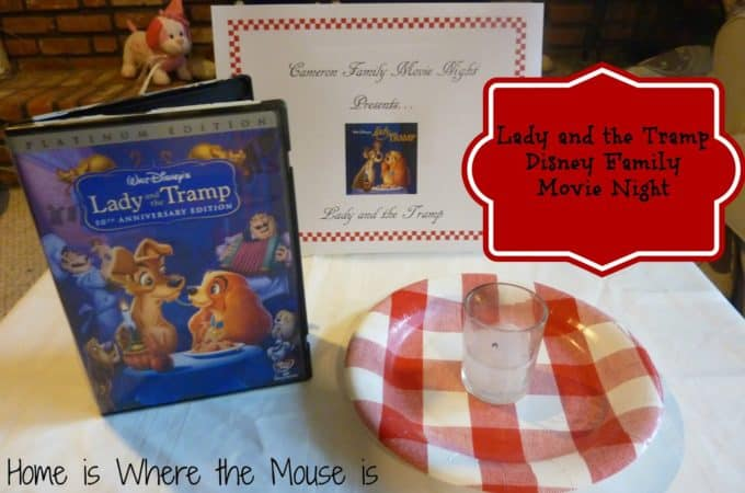 Lady and the Tramp Disney Family Movie Night