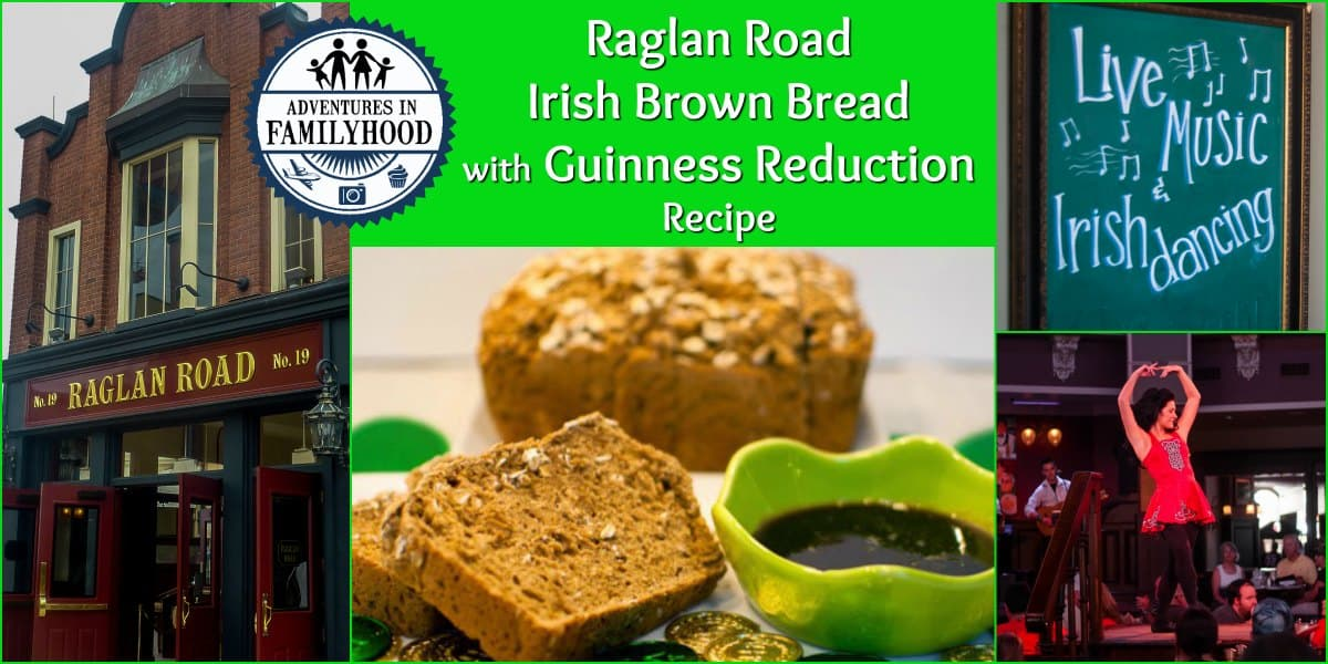 Raglan Road Irish Brown Bread with Guinness Reduction Recipe St. Patrick's Day
