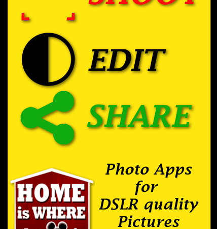 Shoot, Edit, & Share On The Go | Our Favorite Photography Apps