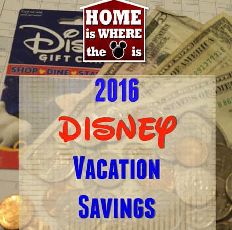 2016 Disney Vacation Savings Challenge