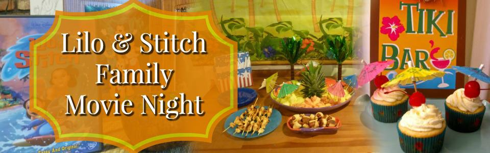 Lilo and Stitch Family Movie Night Slider