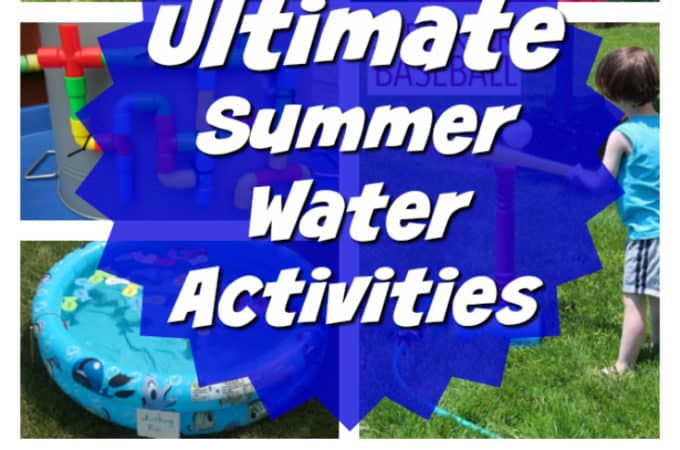 Ultimate List of Cool Summer Water Activities for Kids