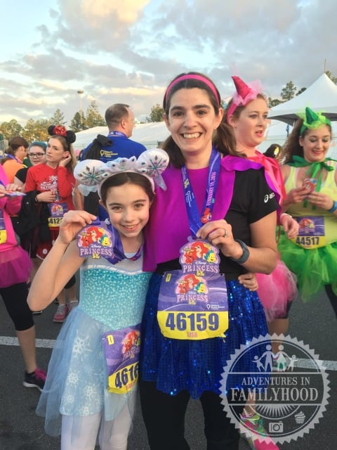 lisa-and-bella-princess-5k-medals