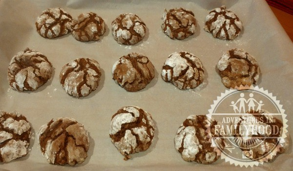 Chocolate Crinkles have been my favorite holiday treat for as long as I can remember. Rich and sweet, they're sure to satisfy any chocoholic's sweet tooth.