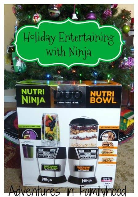 Holiday Entertaining with the Nutri Ninja Nutri Bowl Duo
