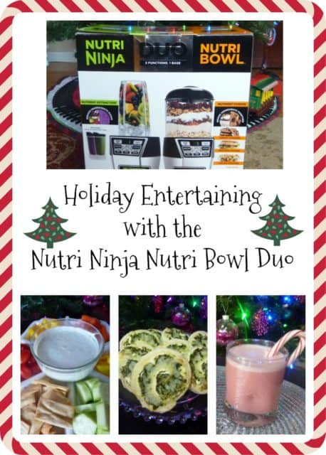 Holiday entertaining is a snap with the Nutri Ninja Nutri Bowl Duo
