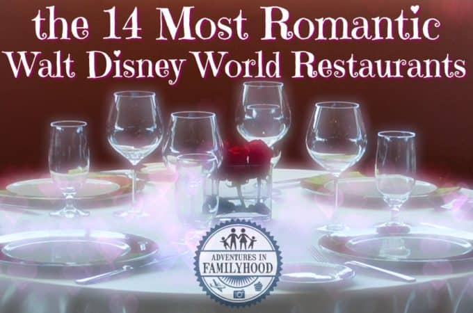 14 Most Romantic Restaurants in Walt Disney World