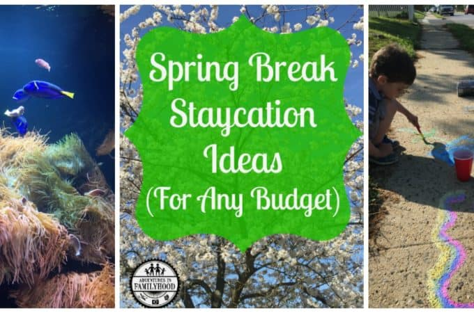 Spring Break Staycation Ideas (For Any Budget)