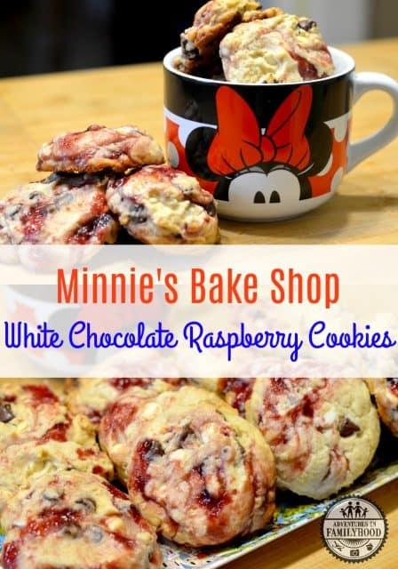 Minnie's Bake Shop White Chocolate Raspberry Cookies
